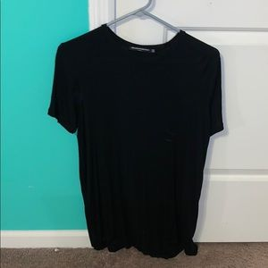 Brandy Melville black t-shirt dress